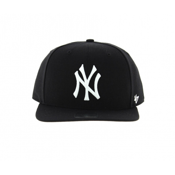 casquette ny noire 47 brand snapback. Black Bedroom Furniture Sets. Home Design Ideas