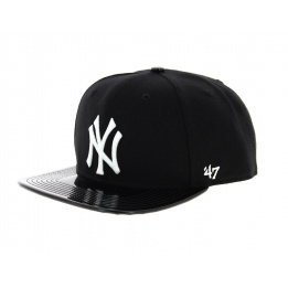 Casquette NY visière simili cuir - 47 Brand