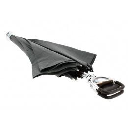 Parapluie canne-siège gris - Il Marchesato