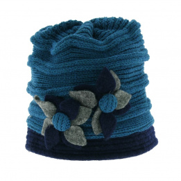 Bonnet laine Nirvana - Turquoise