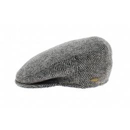 Casquette Harris Tweed Gris - Flechet
