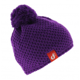 Le Drapo beanie - purple