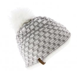 Bonnet Le Drapo Nid d'abeille blanc
