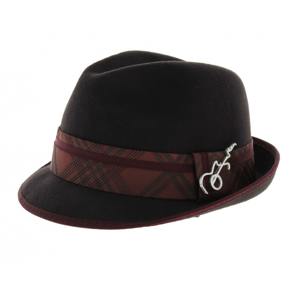 Chapeau Trilby Santana - Regal Marron