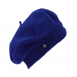 Beret Parisienne Bleu vif - Laulhère