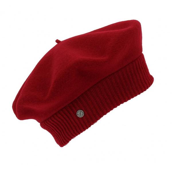 Beret Parisienne Laulhère - Rouge Hermès