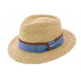 Chapeau Traveller Atlanta Smith paille raffia - Stetson