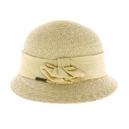 Chapeau cloche paille Winona - Naturel