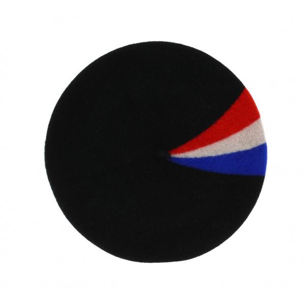 Le Béret Français - Béret Patriote Noir