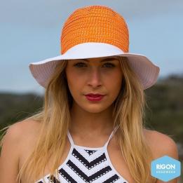Capeline Endless Summer Polyster Bicolore Orange - Rigon Headwear