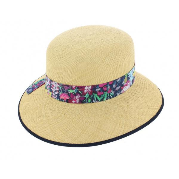 Chapeau Cloche Eleanor Panama Naturel - Christys