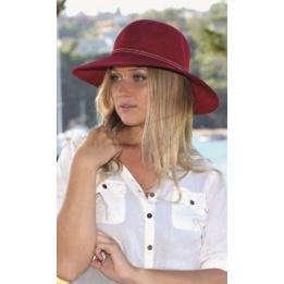 Capeline Suzi Polyester Rouge - Rigon Headwear
