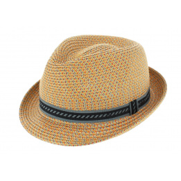 Bailey Mannes Trilby Hat Navy Multi