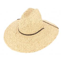Chapeau de paille grand bord
