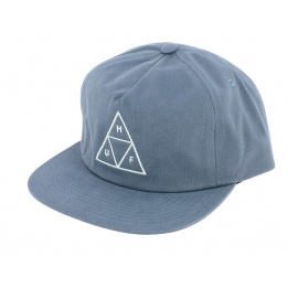 Casquette Snapback Triangle Coton Bleu-Ciel - Huf
