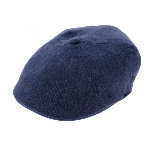 Casquette Wool Flexfit 504 Bleu-Marine - Kangol