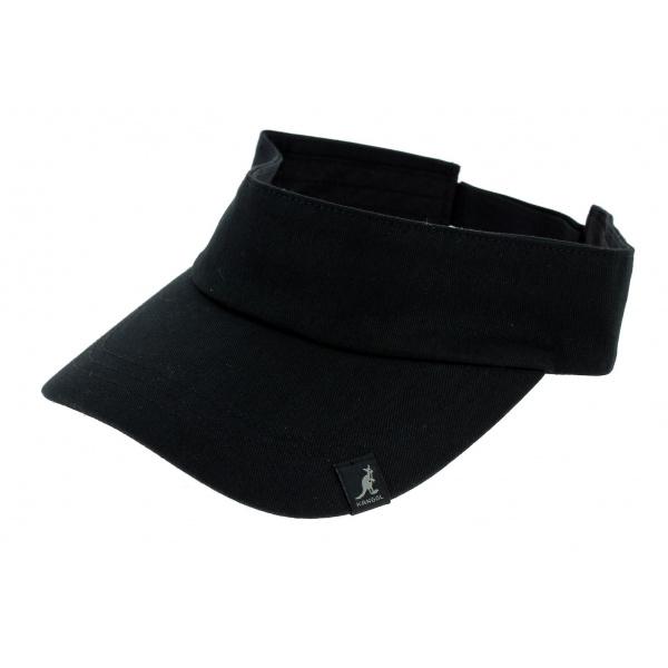Visière Coton Noir - Kangol