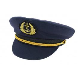Casquette de Marin Comodore Bleu-Marine - Traclet