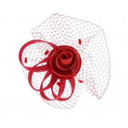 Peigne de cérémonie - Lola rouge