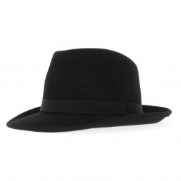 Chapeau feutre Blues Brothers large bord