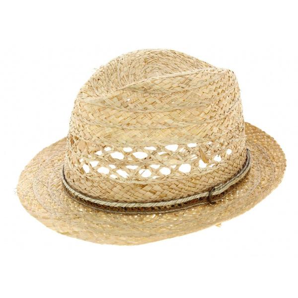 Straw hat covoma chapeau traclet - Deco chapeau de paille ...