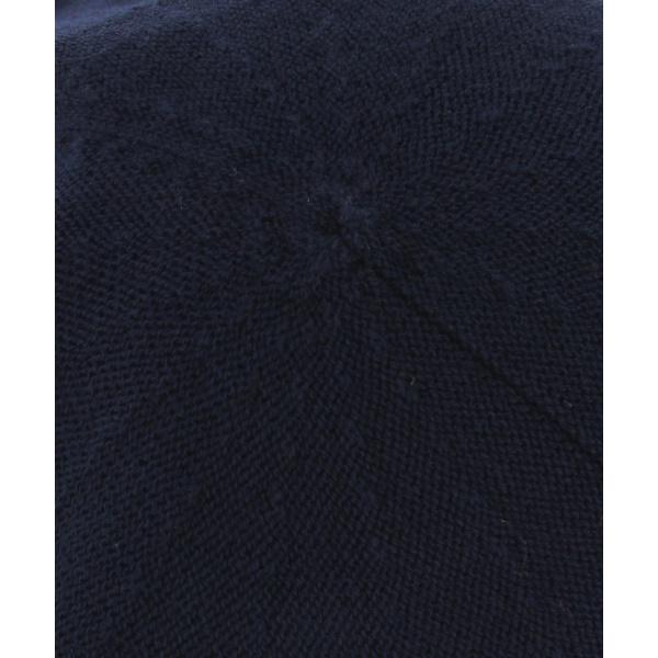 Beret coton Marine
