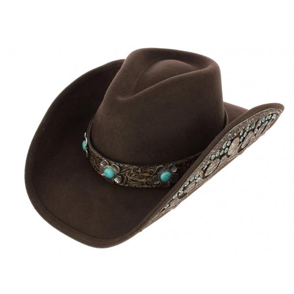 chapeau de cowboy sweet emotion feutre bullhide. Black Bedroom Furniture Sets. Home Design Ideas