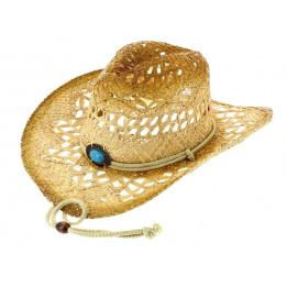 Chapeau Cowboy Lost In Love Paille Naturelle - Bullhide