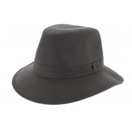 Chapeau Traveller Cortez Coton Marron Crambes