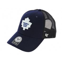 Casquette Trucker Snapback Mapple Leafs Bleu - 47 Brand
