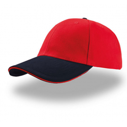Casquette baseball LIBERTY SANDWICH ROUGE-NAVY SANDWICH ROUGE