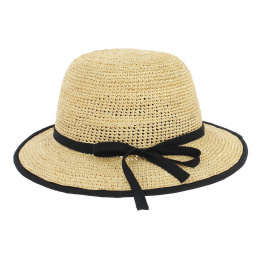 Chapeau Cloche Raphia - Naturel