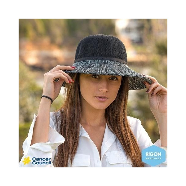Capeline wash n' wear Polyester Black - Rigon headwear