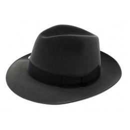 Chapeau feutre poil gris