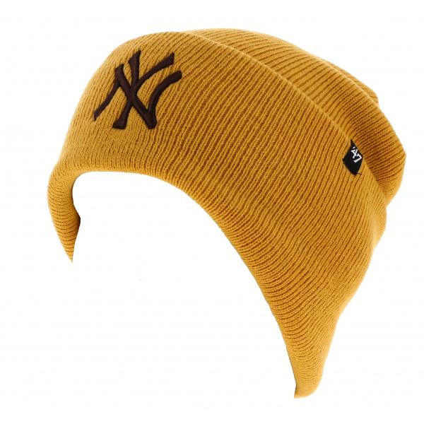 Bonnet Jaune NY Yankees Acrylique - 47 Brand