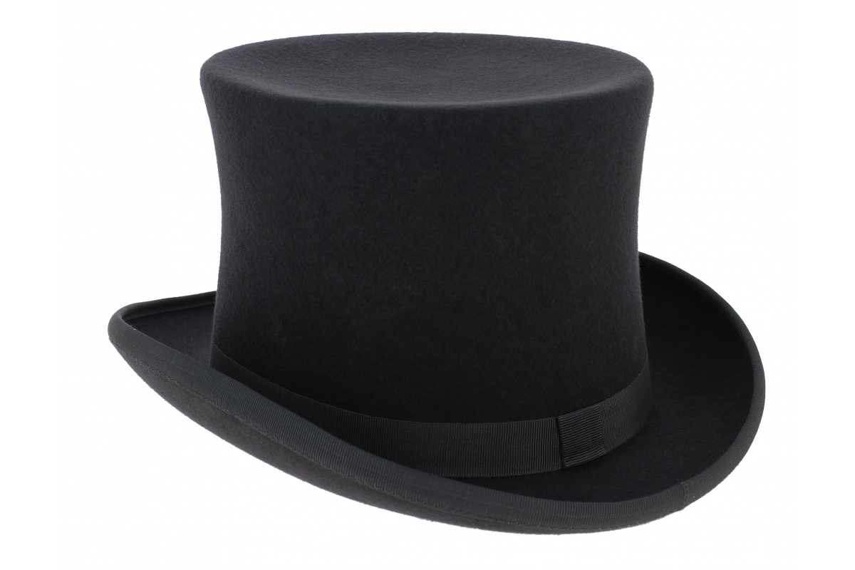 chapeau haut de forme feutre laine caban traclet chapeau traclet. Black Bedroom Furniture Sets. Home Design Ideas