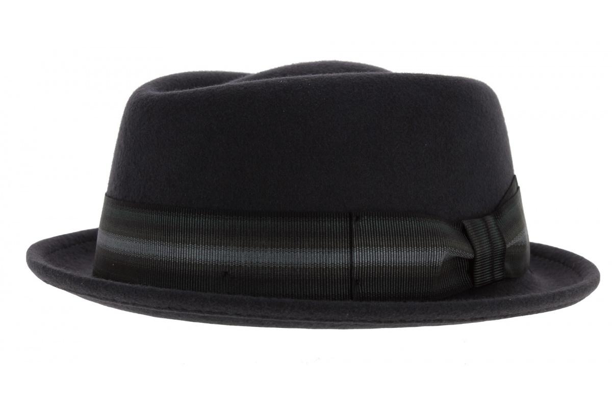 chapeau rocco gris feutre. Black Bedroom Furniture Sets. Home Design Ideas