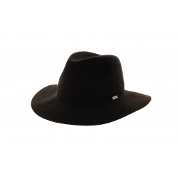 Chapeau baroudeur The Harmon Coal marron