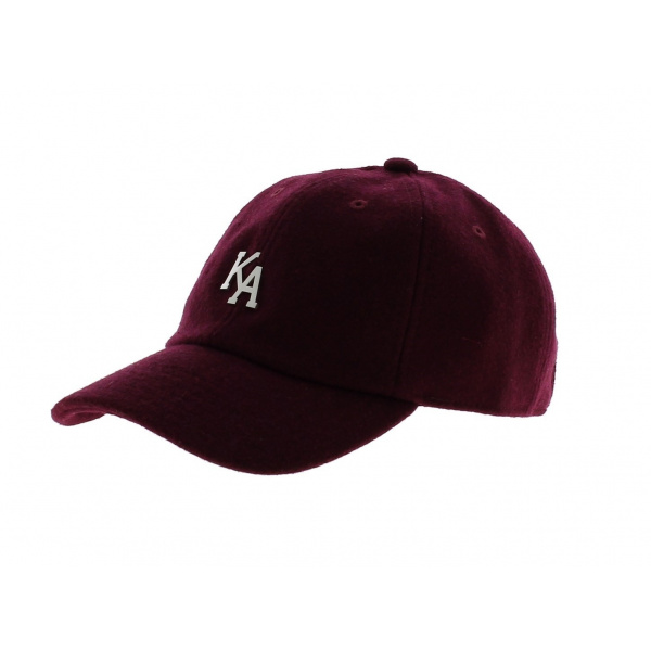 Casquette Letterman Curved Peak - KING APPAREL