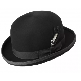 Chapeau Derby Noir melon Bailey