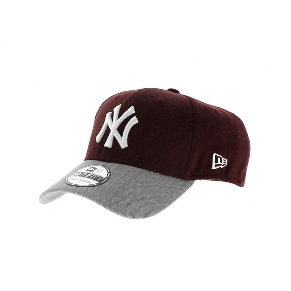 casquette ny new era yankees casquette jersey mlb 3d gris chine. Black Bedroom Furniture Sets. Home Design Ideas
