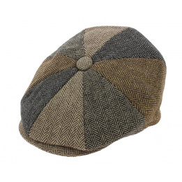 Casquette irlandaise Patch Newsboy