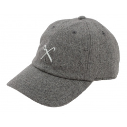 Casquette Baseball Strapback Hard Graft Laine Gris - King Apparel
