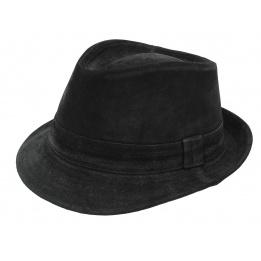 Chapeau trilby cuir