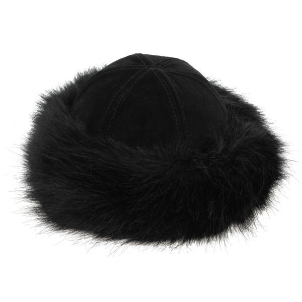 Toque Femme Oxana  Noir - Traclet