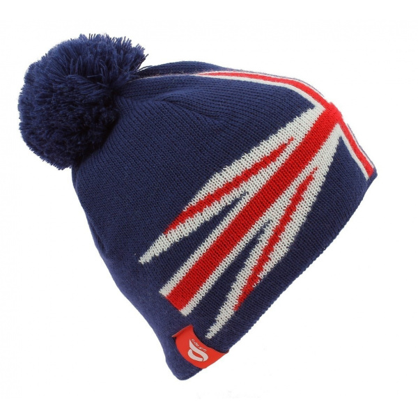 Bonnet à Pompon UK Flag - Le Drapo
