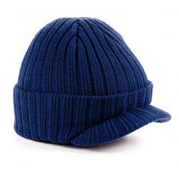 Bonnet casquette janson marine