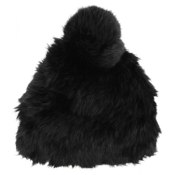Bonnet Lapin femme Noir