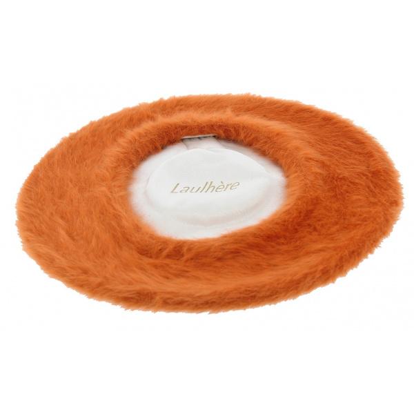 Béret Angora Orange Aurillac - Laulhère