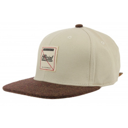 Casquette Strapback Journey Beige - Official
